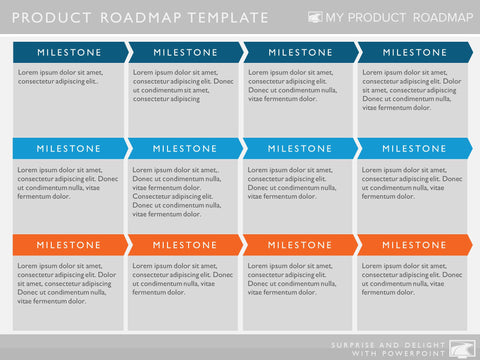 product strategy agile planning development cycle stages map roadmap software tools management process template release