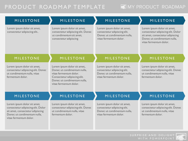 six phase software strategy timeline roadmap presentation