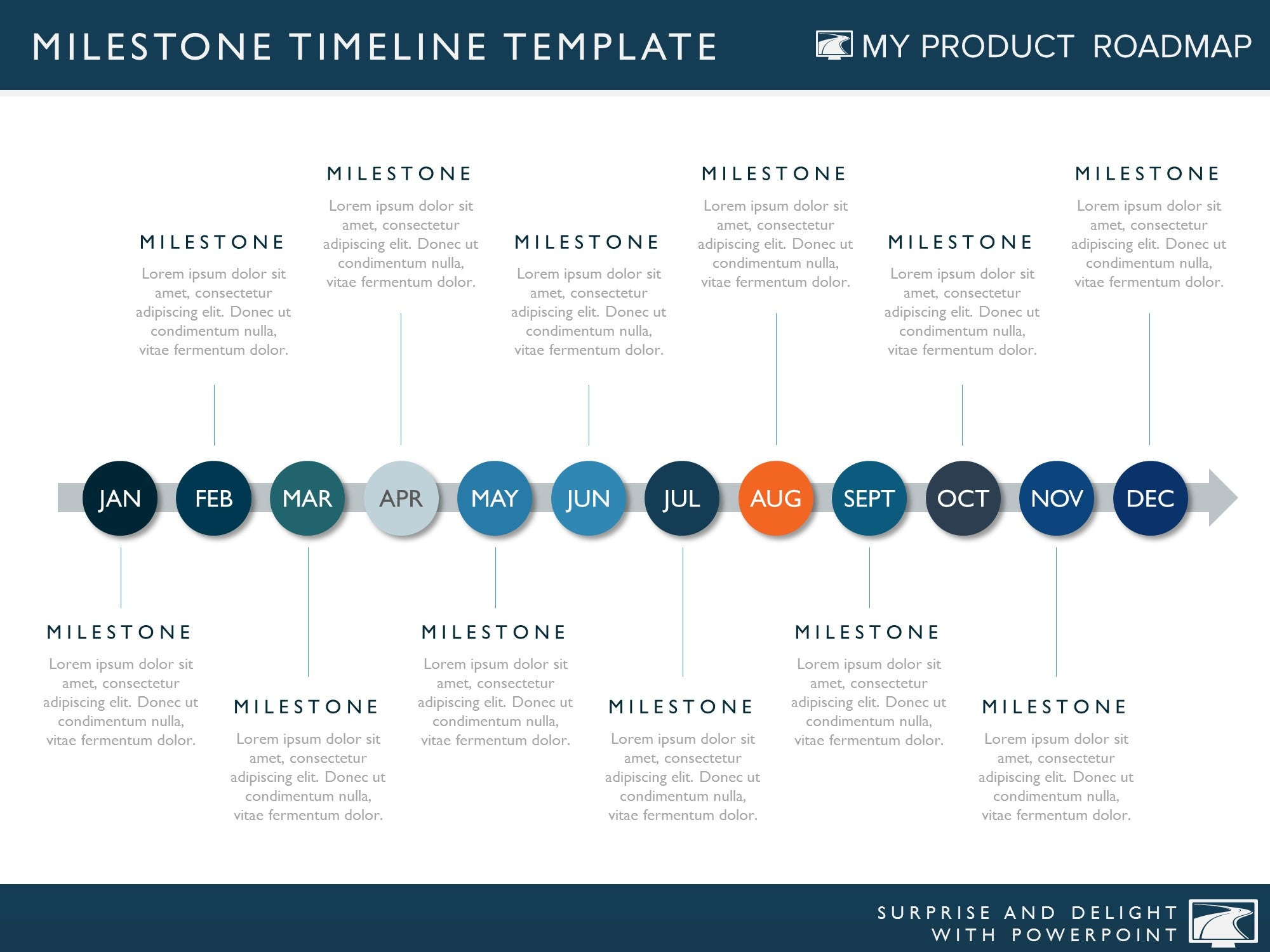 Twelve phase product development timeline roadmap presentation product strategy development cycle plan portfolio management software agile planning how to create a roadmap example toneelgroepblik Choice Image
