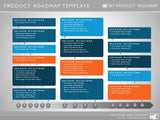 Fifteen Phase Development Planning Timeline Roadmapping PowerPoint Diagram