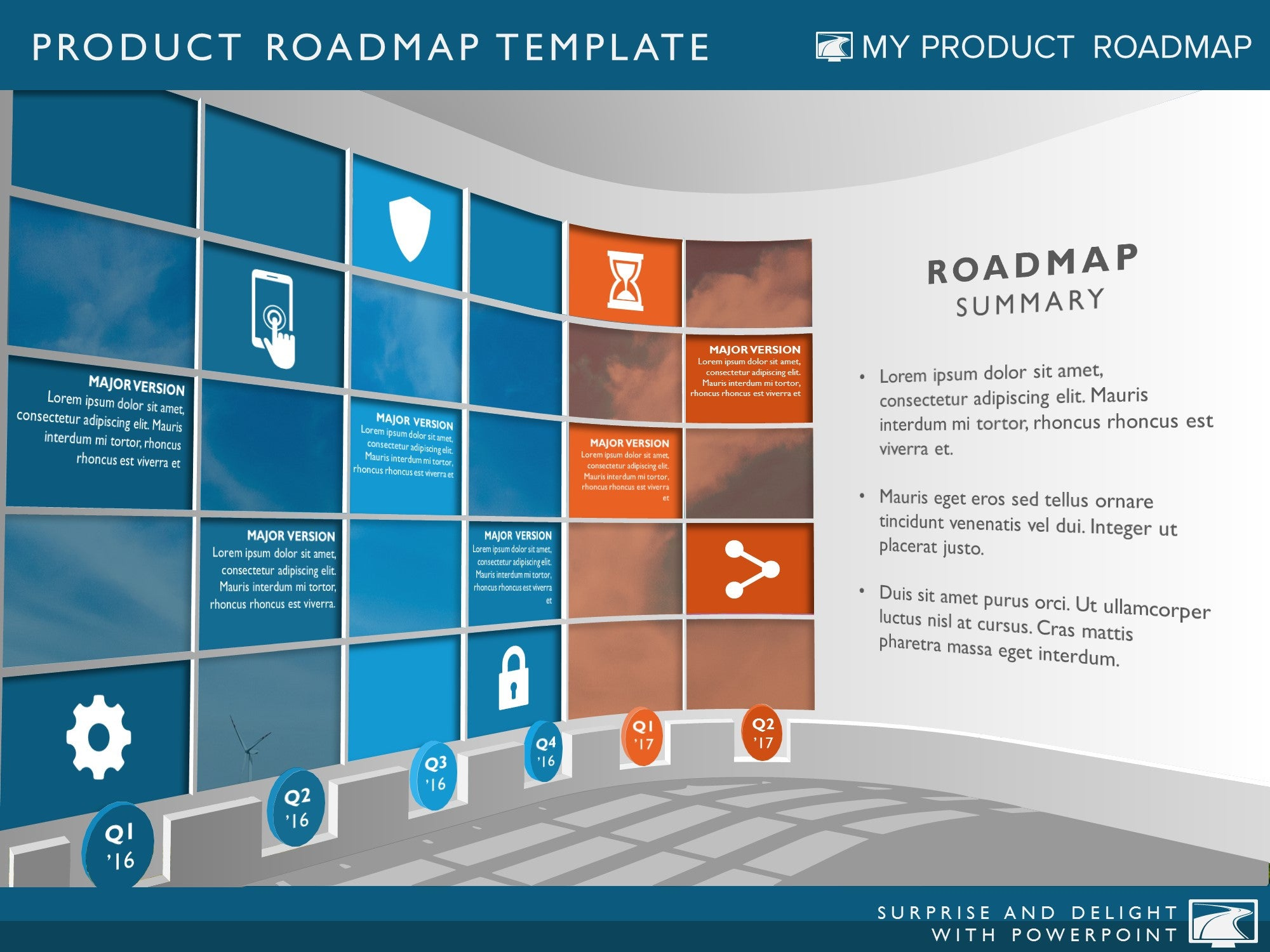 six phase business planning timeline roadmap powerpoint diagram. Black Bedroom Furniture Sets. Home Design Ideas