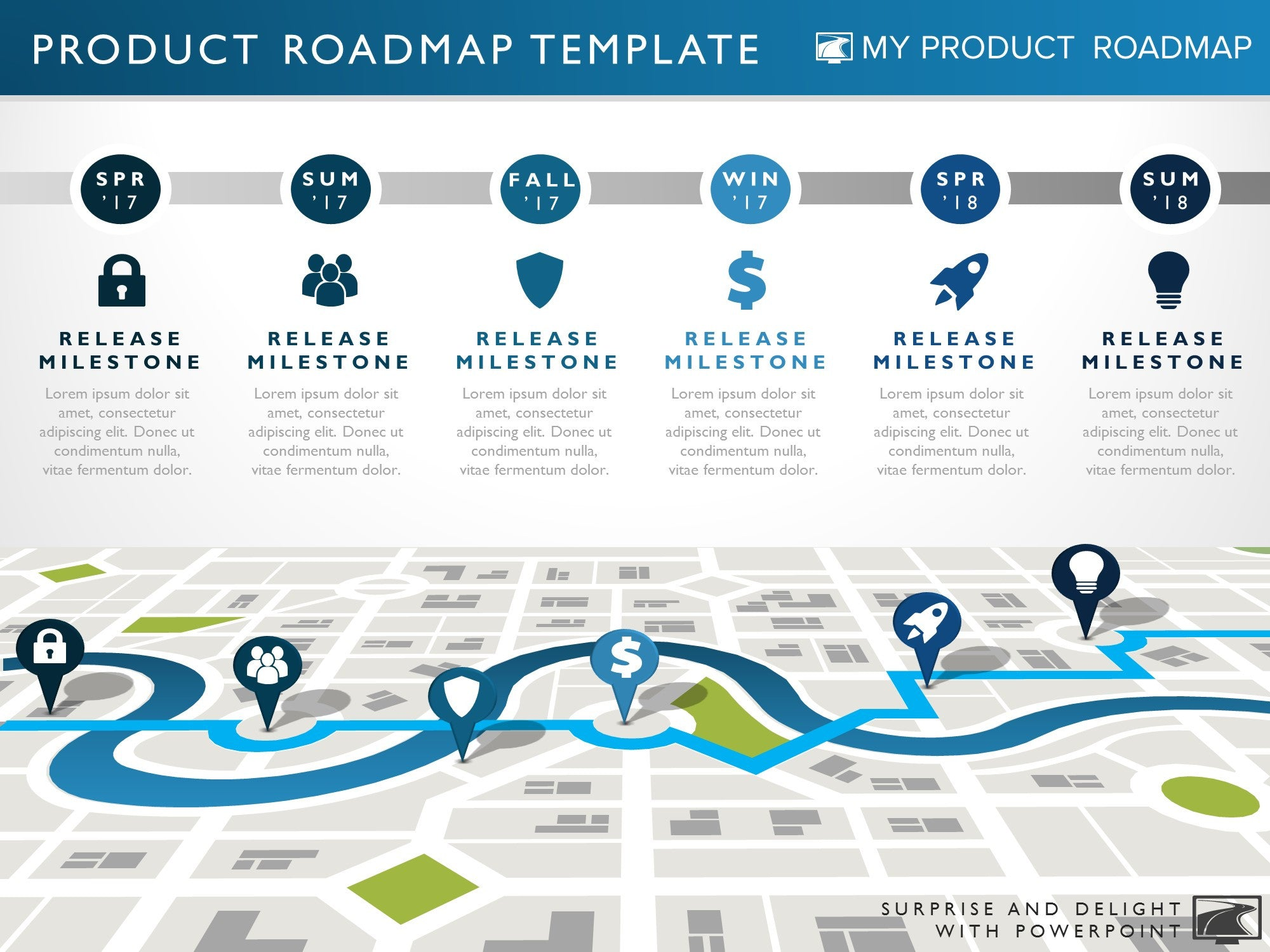 Six Phase Technology Strategy Timeline Roadmap Presentation Diagram
