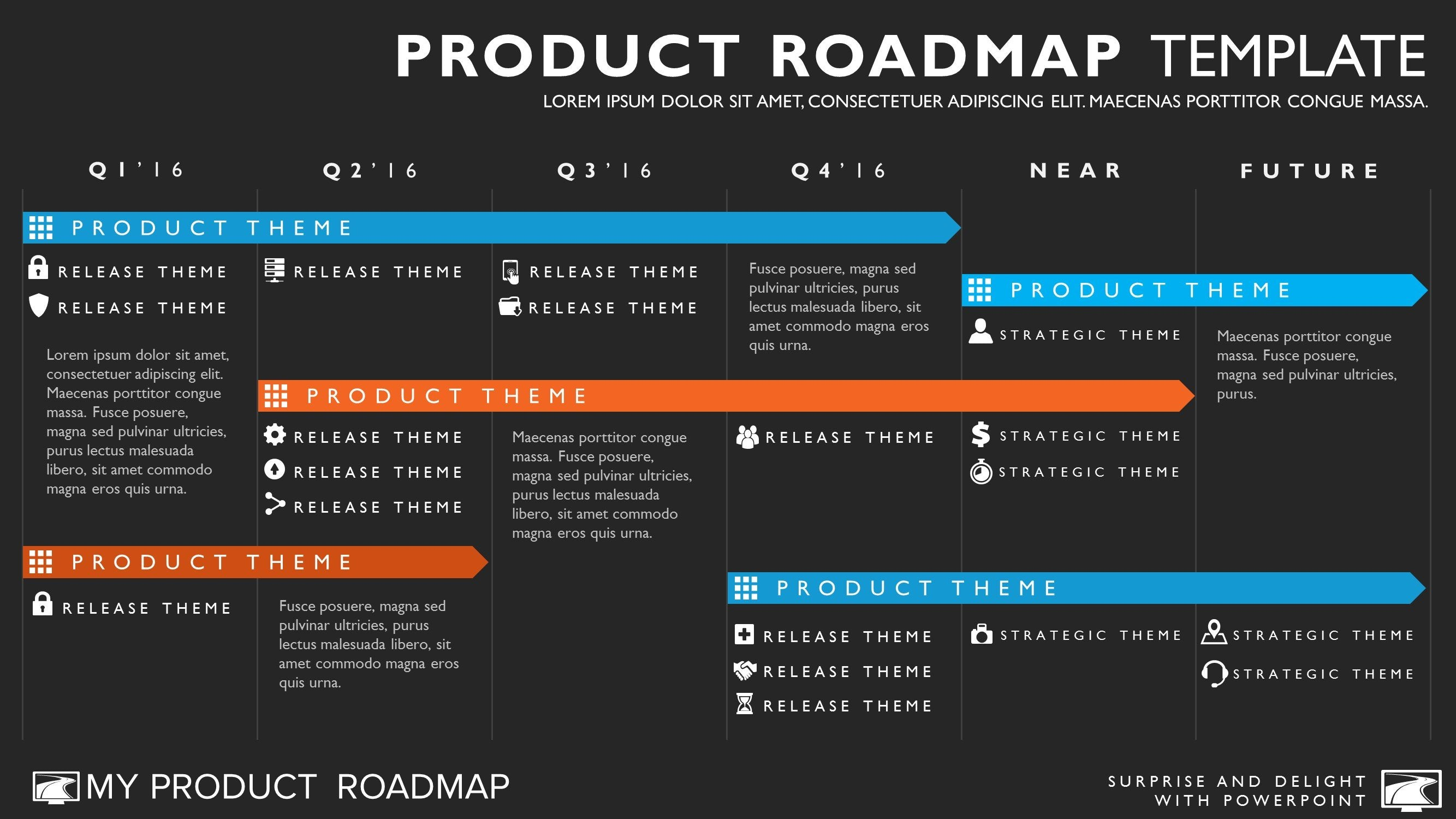 Six phase agile timeline roadmap powerpoint template toneelgroepblik