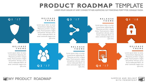 Agile Timeline Roadmapping Presentation Diagram