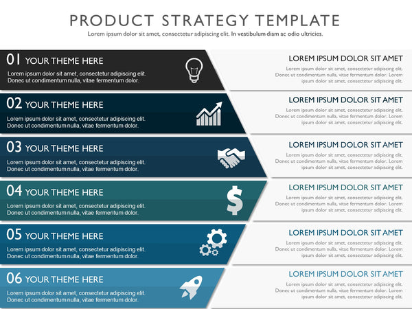 strategy templates template powerpoint marketing infographic plan strategic ppt business presentation planning corporate sales examples roadmap process timeline development management