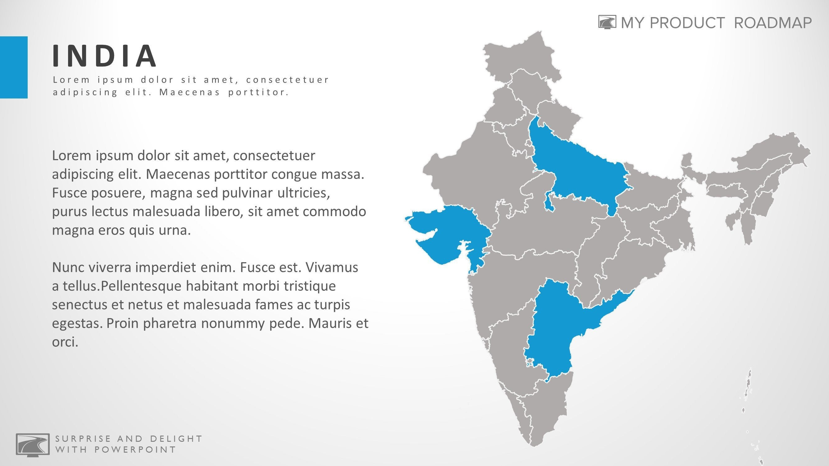 India professional powerpoint map smartart theme template gumiabroncs Choice Image