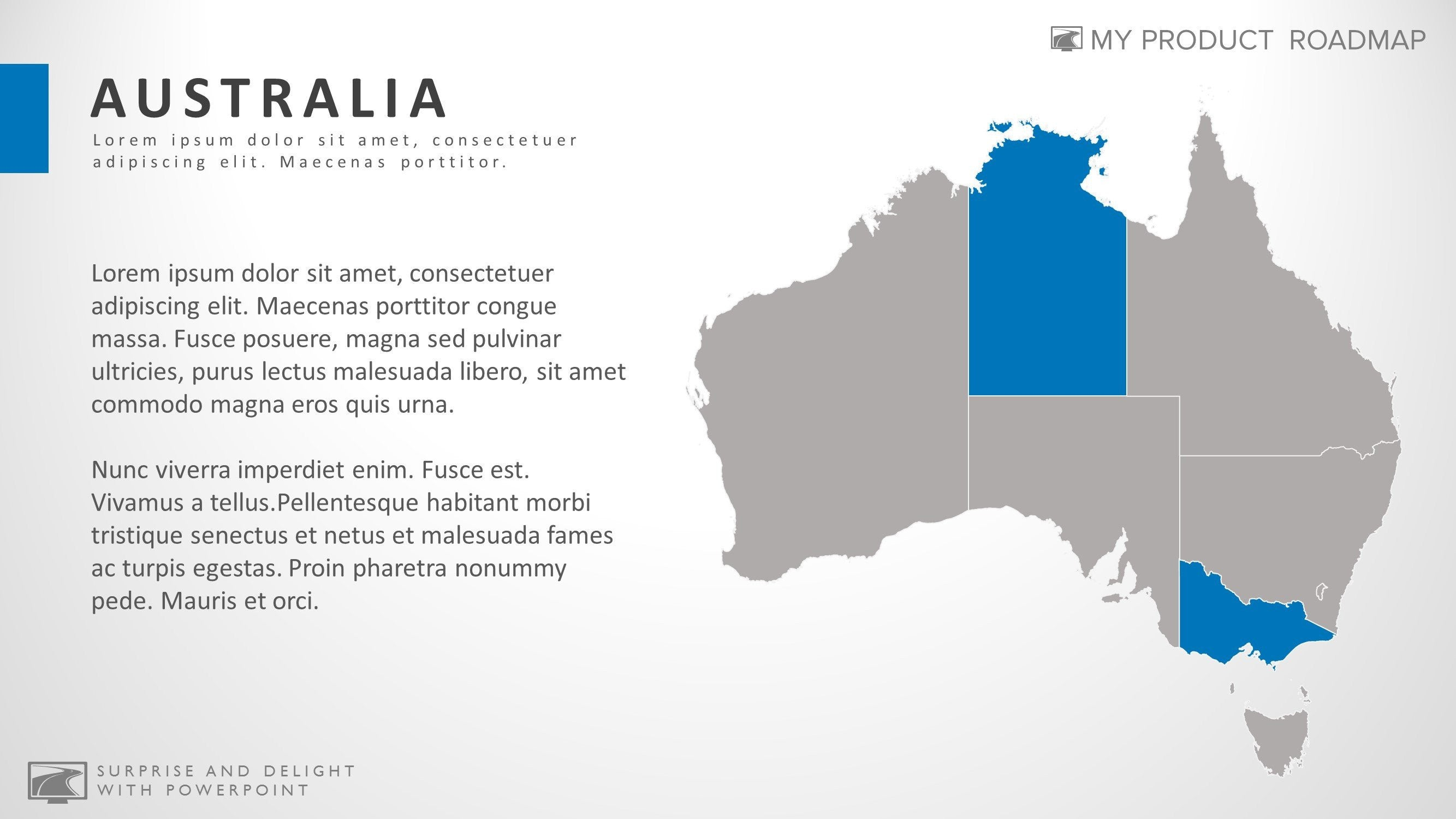 Australia best powerpoint map smartart presentation diagram gumiabroncs Image collections