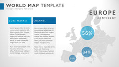 World microsoft powerpoint map infographic presentation template gumiabroncs Gallery