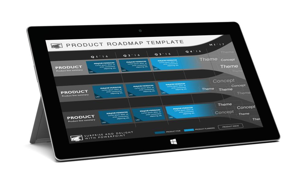 Professional powerpoint templates from my product roadmap five phase strategic product timeline roadmapping presentation diagram toneelgroepblik Gallery