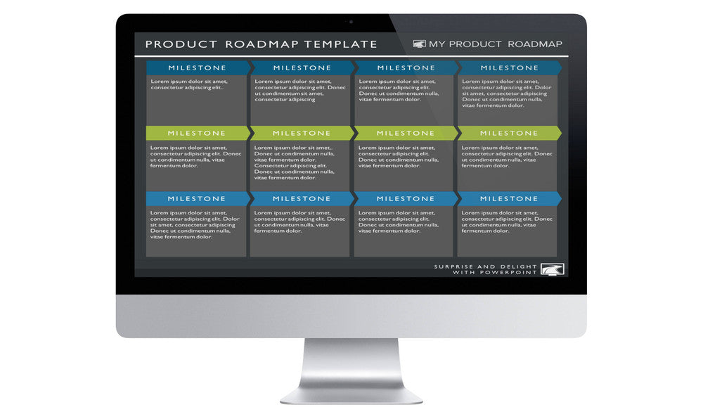SIX PHASE SOFTWARE STRATEGY TIMELINE ROADMAP PRESENTATION TEMPLATE