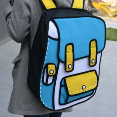 3D Kid's Cartoon Backpack