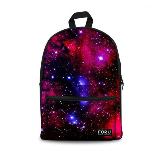 Galaxy Print Backpack - More Colors