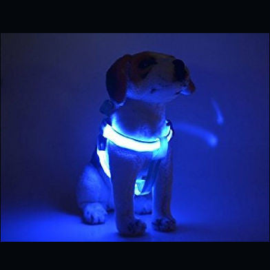 Adjustable LED Dog Harness