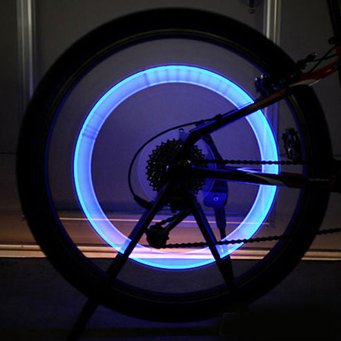 Neon LED Bicycle Tire Valve - FREE + Shipping!