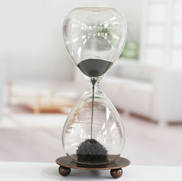 Magnetic Sand Hourglass