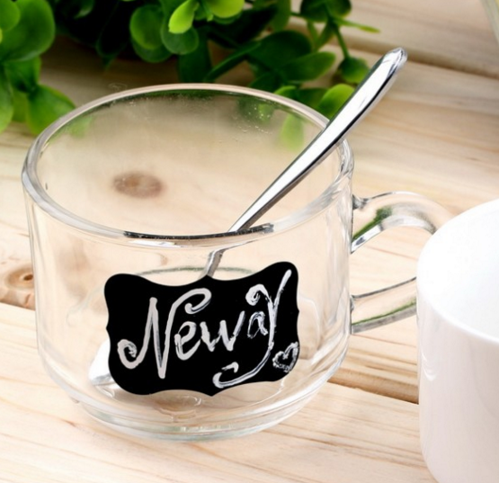 Chalkboard Coffee Mug Labels
