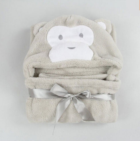 Hooded Kid's Character Towel