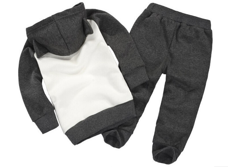 Girl's Batman Hoodie & Sweatpants Set