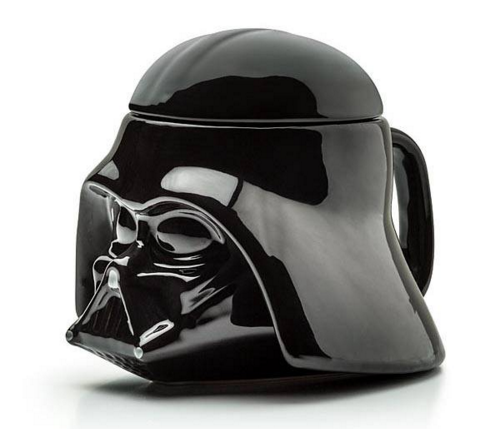 Darth Vader Coffee Mug & Removable Lid