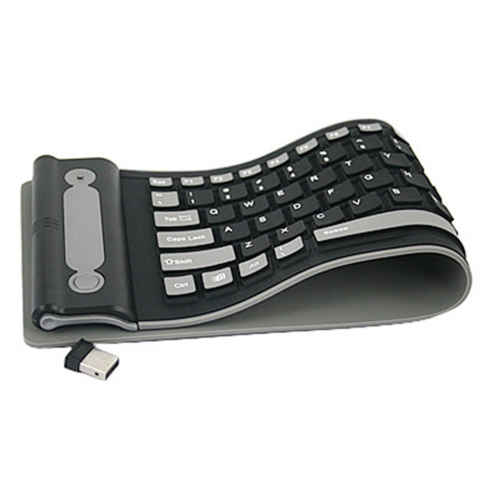 Wireless Silicone Roll-Up Keyboard