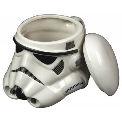 Stormtrooper Coffee Mug & Removable Lid