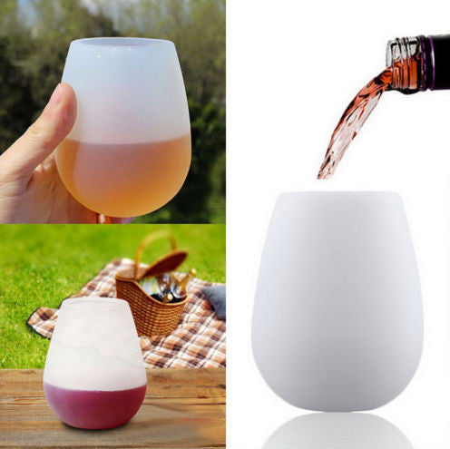 Foldable Silicone Wine Glass