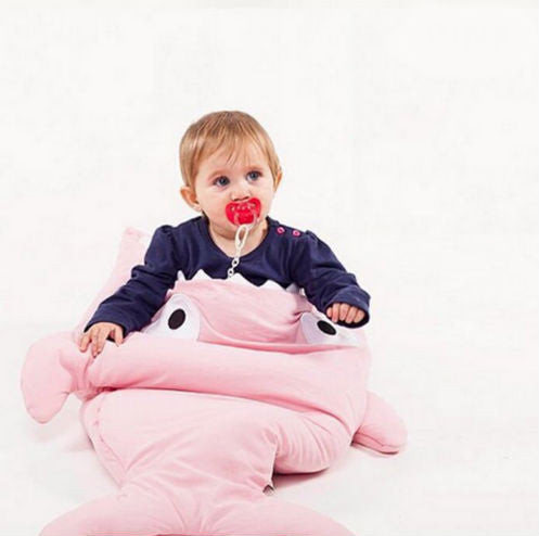 Baby & Kid's Whale Sleeping Bag - More Colors