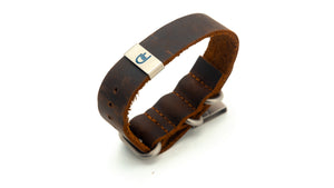 Rugged leather. Soft leather bracelet. Leather anniversary gift. Steel anniversary gift. Mens bracelets. Corporate gifts