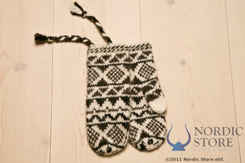 Goa Wool Mittens - White - Wool Accessories - Wool Sweaters