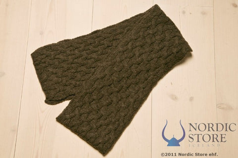 ARN Long Scarf - Brown - Wool Accessories - Wool Sweaters