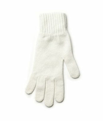 Angora Gloves White - Wool Accessories - Wool Sweaters