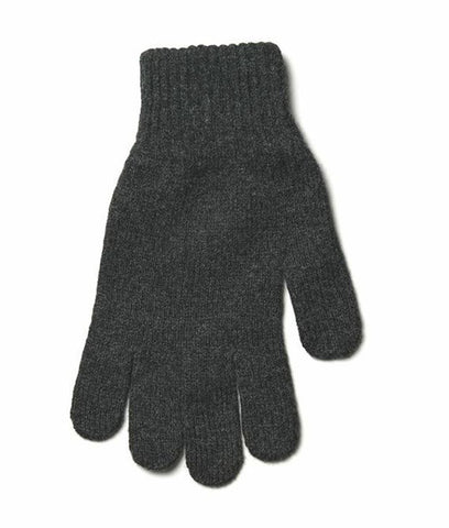 Mens Wool Gloves Grey - Wool Gloves - Wool Sweaters