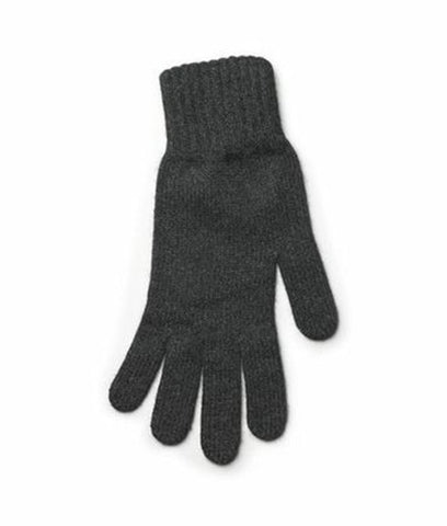Angora Gloves Grey - Wool Accessories - Wool Sweaters