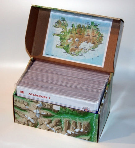 Iceland Topo Maps in a box (1:100.000) - Maps - Wool Sweaters
