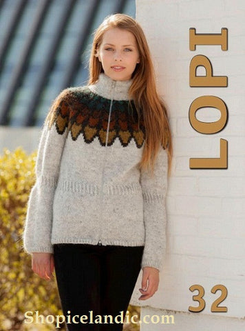 Lopi Pattern Book No. 32 - Book - Wool Sweaters