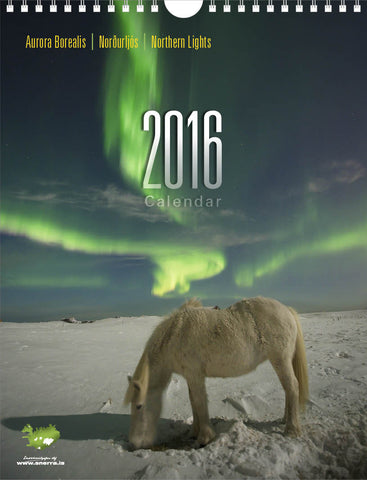 Northern Lights Calendar 2016 - Calendar - Wool Sweaters  - 1