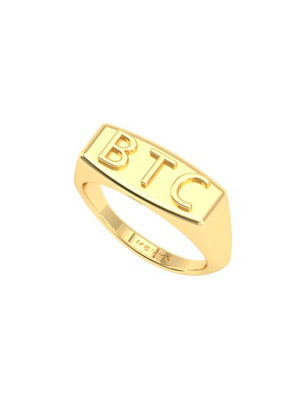 BTC (Born To Create) Ring