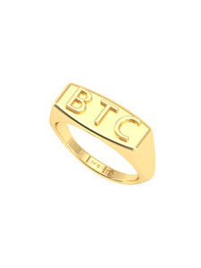 BTC (Born To Create) Ring - MAKKO