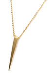 LONG SPIKE NECKLACE - MAKKO