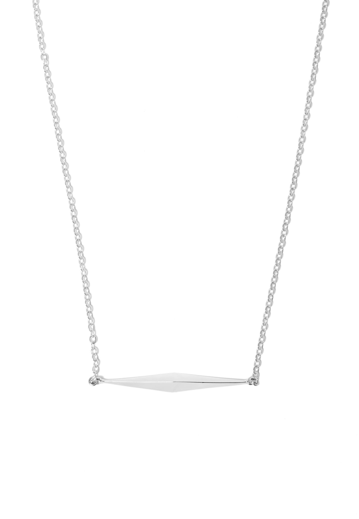 DIAMOND TEARDROP NECKLACE - MAKKO