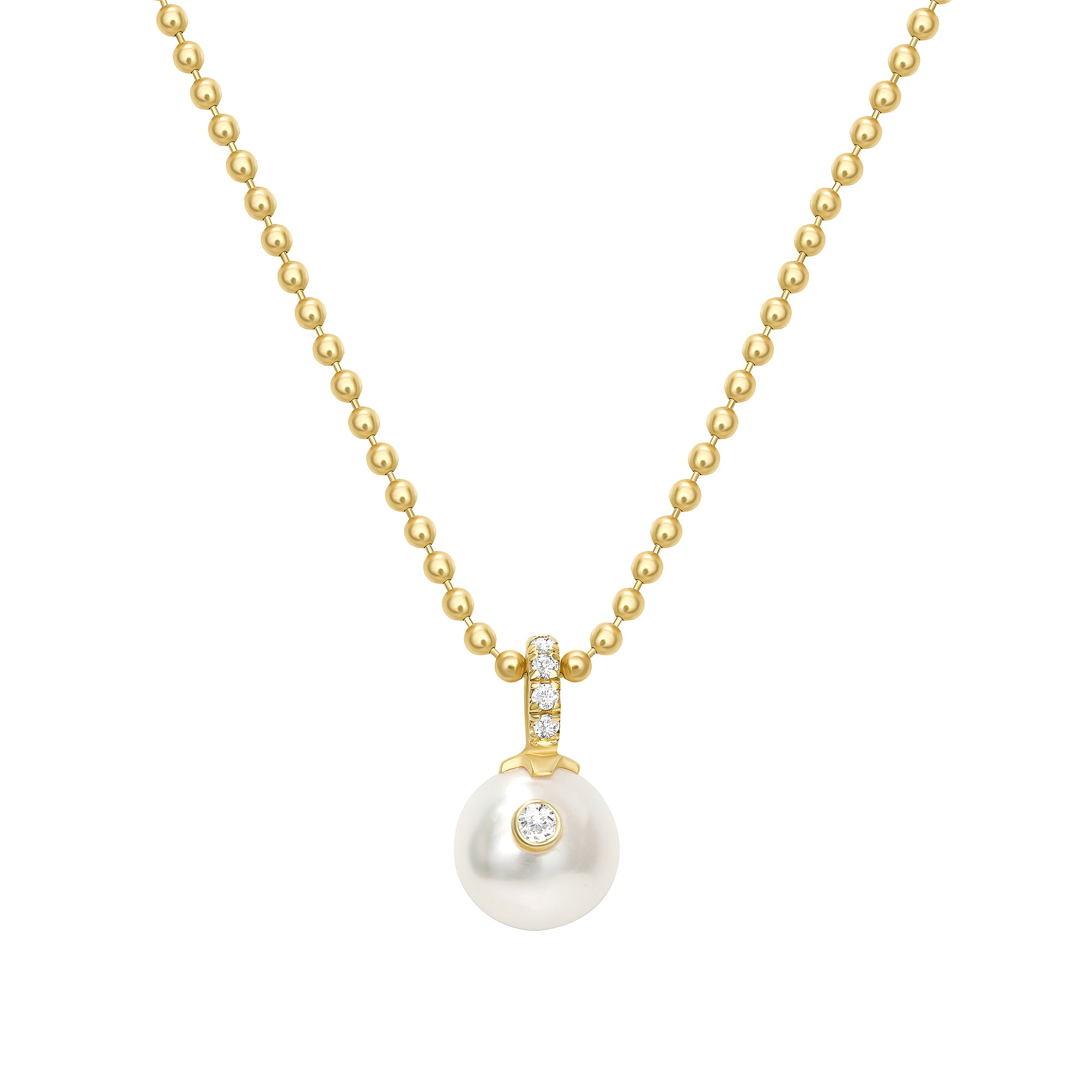 SINGLE PEARL NECKLACE - MAKKO