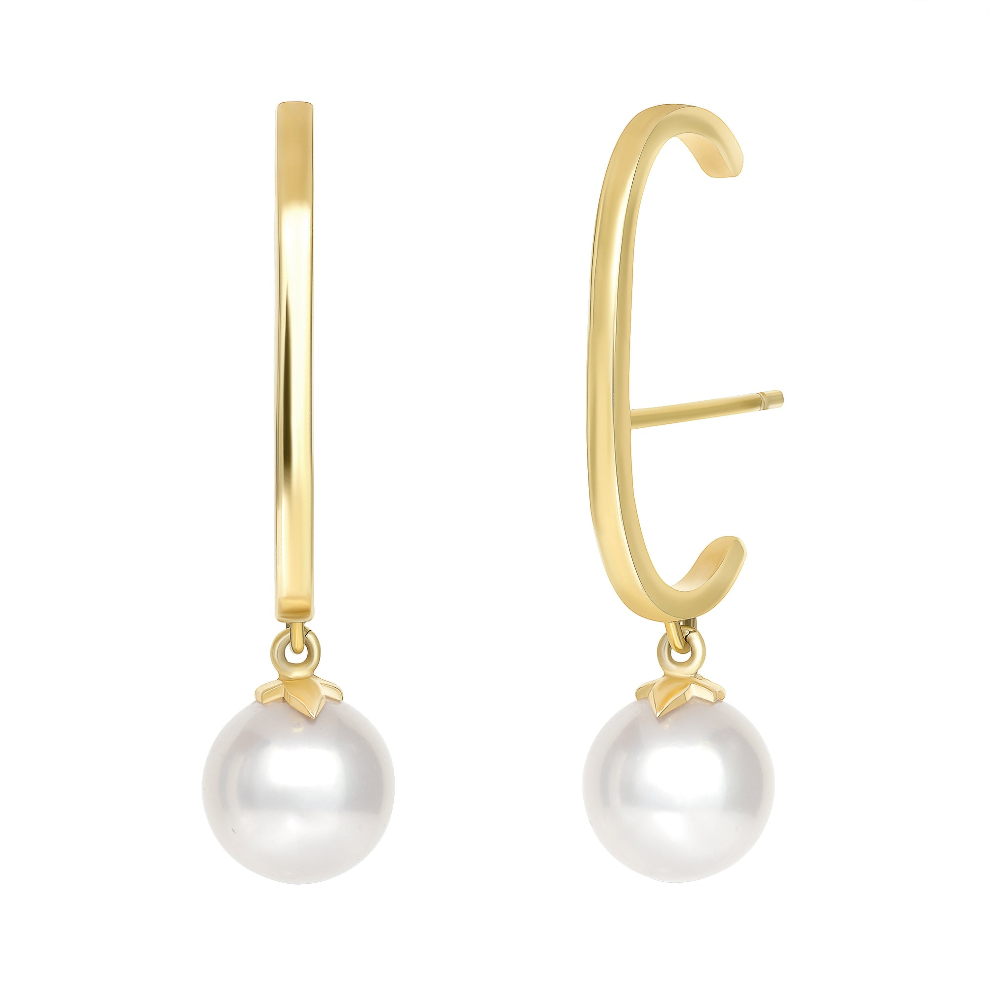 PEARL CUFF EARRINGS - MAKKO