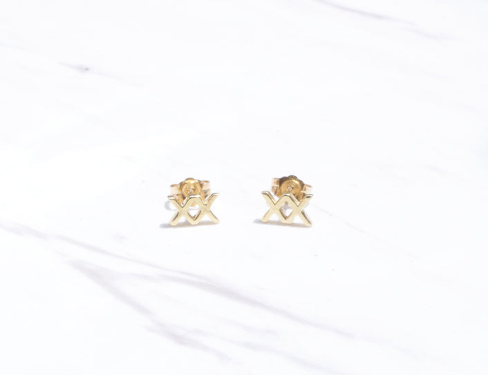 XX STUD EARRINGS - MAKKO