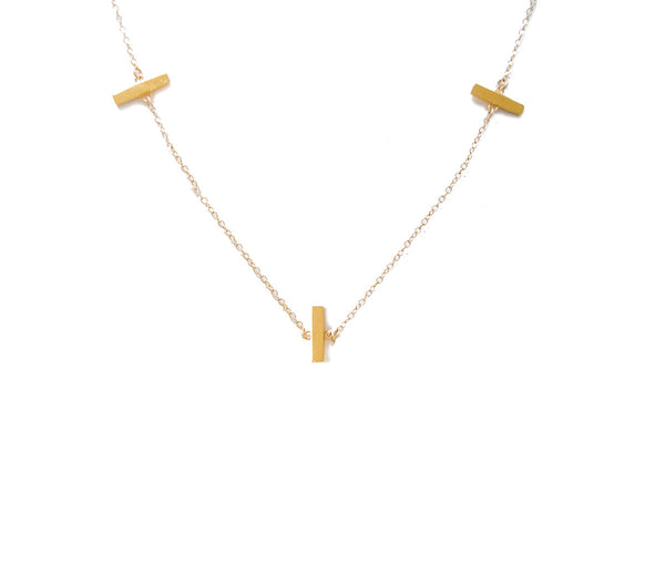 3 BAR NECKLACE