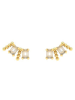 CROWN EARRINGS - MAKKO