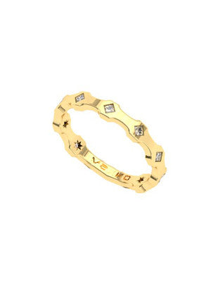 DAZZLE DIAMOND CLUSTER RING - MAKKO
