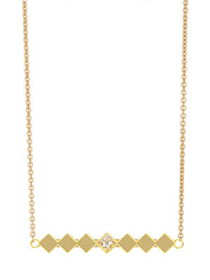 DIAMOND WEAVE NECKLACE - MAKKO