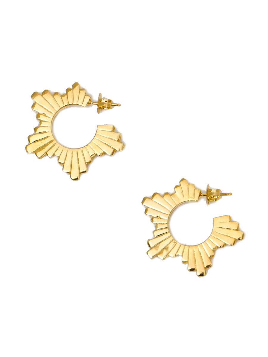 STAR FLARE EARRINGS - MAKKO