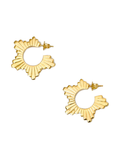 STAR FLARE EARRINGS