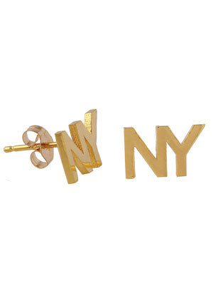 NY STUD EARRINGS - MAKKO